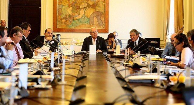 Reynaldo Hilbck participó en la reunión de Consejo de ministros liderada por el presidente Kuczynski.