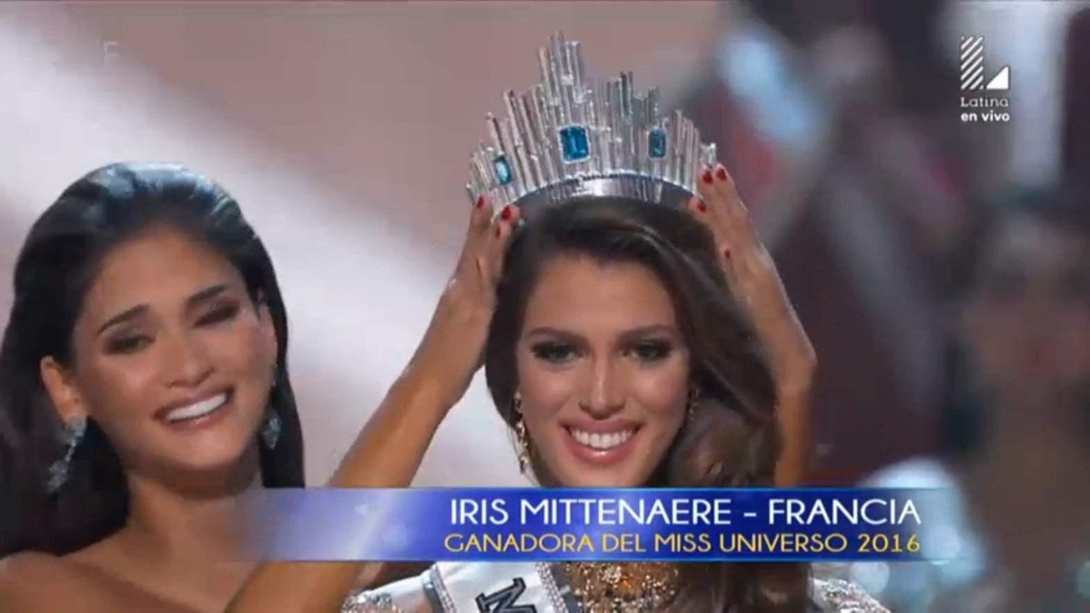 La nueva Miss Universo es Iris Mittenaere de Francia
