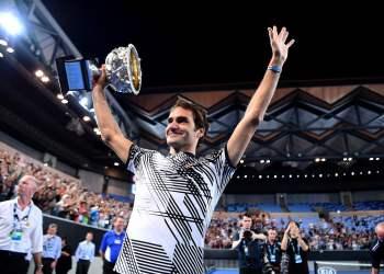 Roger Federer conquistó su título número 18 de Grand Slam a los 35 años de edad.