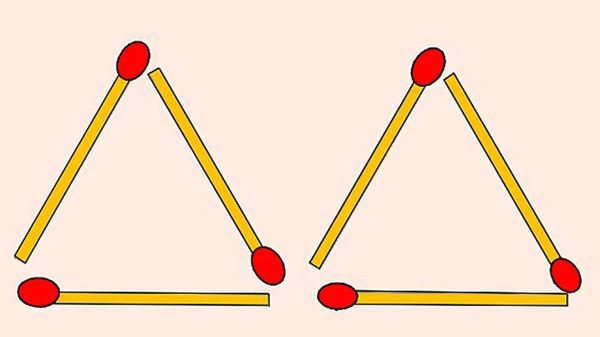 ¿Puedes resolver este doble desafío viral de los fósforos en dos simples movimientos?