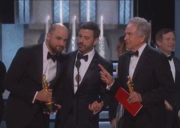 Grave error en los premios Oscar