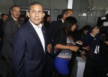 Ollanta Humala afirmó que no está vinculado a temas de corrupción