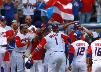 Puerto Rico también celebró ante Italia.