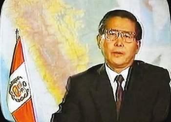 La noche del 5 de abril Fujimori dio el autogolpe.