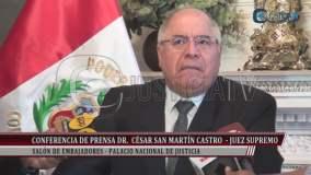César San Martín reconoció haberse reunido con Humala
