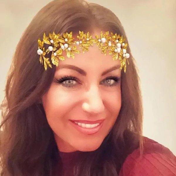 Otra foto que publicó 'Miss Ferguson' en las redes sociales