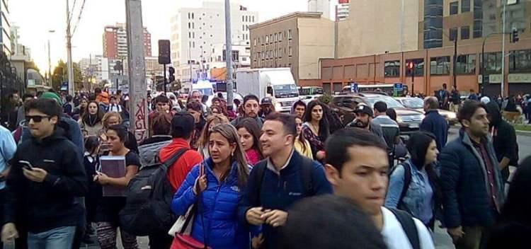 Sismo en Chile causa alarma