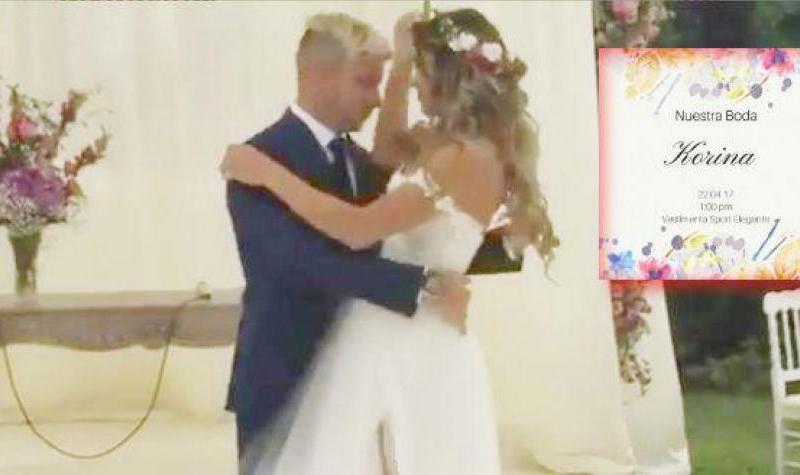 Mario Hart y Korina Rivadeneira