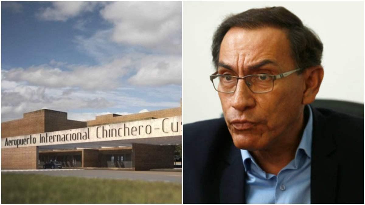 Aeropuerto de Chinchero y ministro Martín Vizcarra