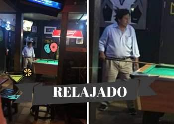 ¿Qué se sabe sobre la foto de Alejandro Toledo jugando billar?