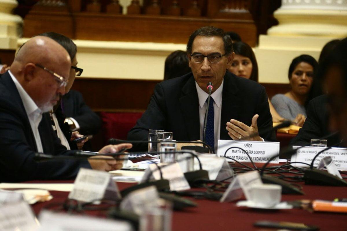 Congreso aprobó interpelar al ministro Vizcarra por el tema del aeropuerto de Chinchero