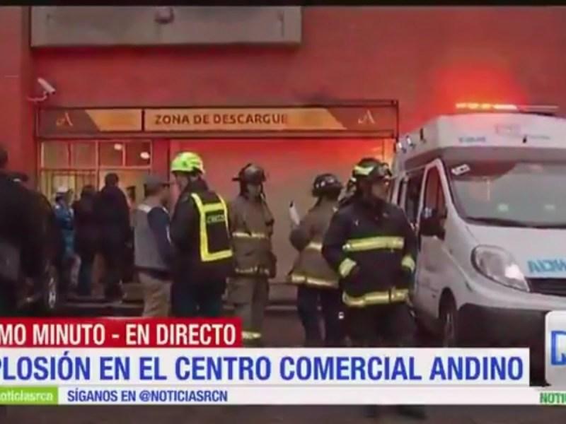 Atentado terrorista en centro comercial de Bogotá