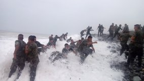 Defensa difunde video inédito de entrenamiento de soldados que terminó en tragedia