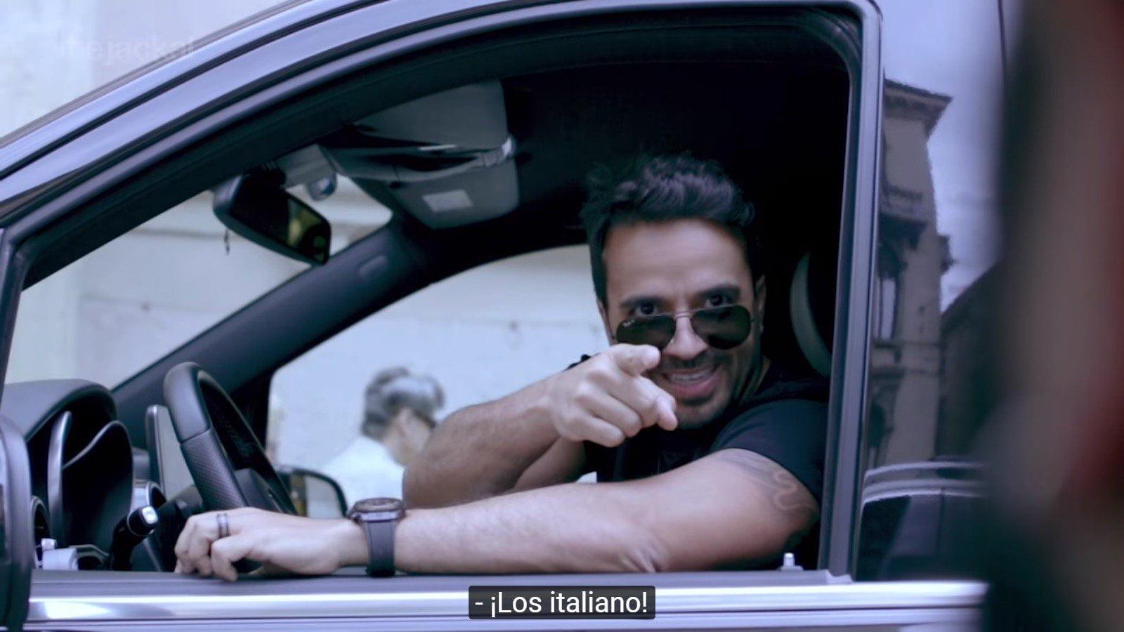 Luis Fonsi y los italianos