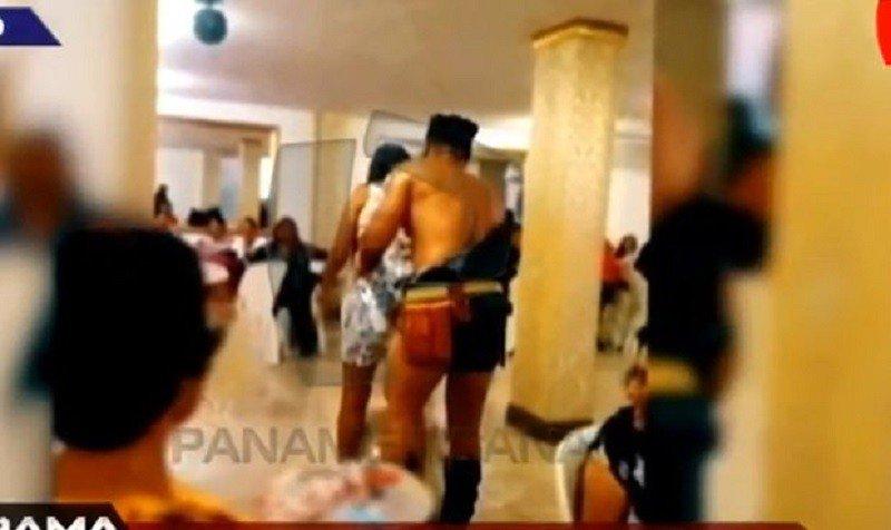 Celebración al desnudo: trabajadoras del hospital San José son grabadas bailando con strippers