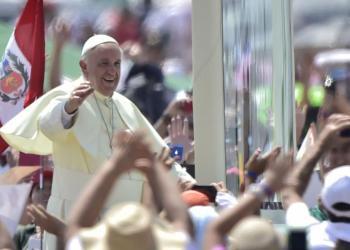 El Papa Francisco I visitará el Perú en enero.