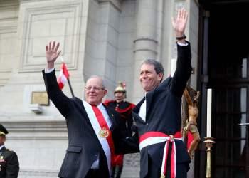 El presidente Kuczynski respaldó al ministro de Economía, Alfredo Thorne.