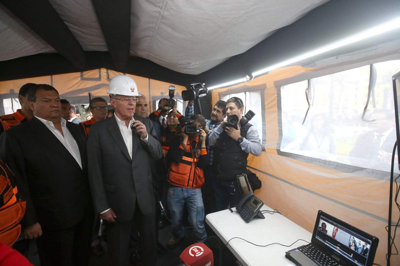 """Kuczynski: """"Se viene una curva ascendente de crecimiento y desarrollo en el Perú"""""""