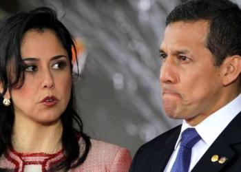 Ex pareja presidencial Humala-Heredia con prisión preventiva por 18 meses.