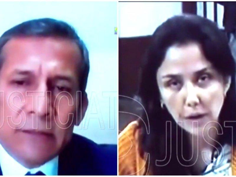 Ollanta Humala y Nadine Heredia en prisión
