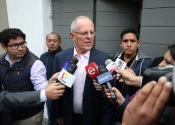 El jefe de Estado lamentó la situación de Ollanta Humala y Nadine Heredia.
