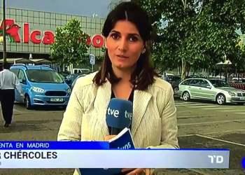 Periodista Mar Chércoles de TV Española