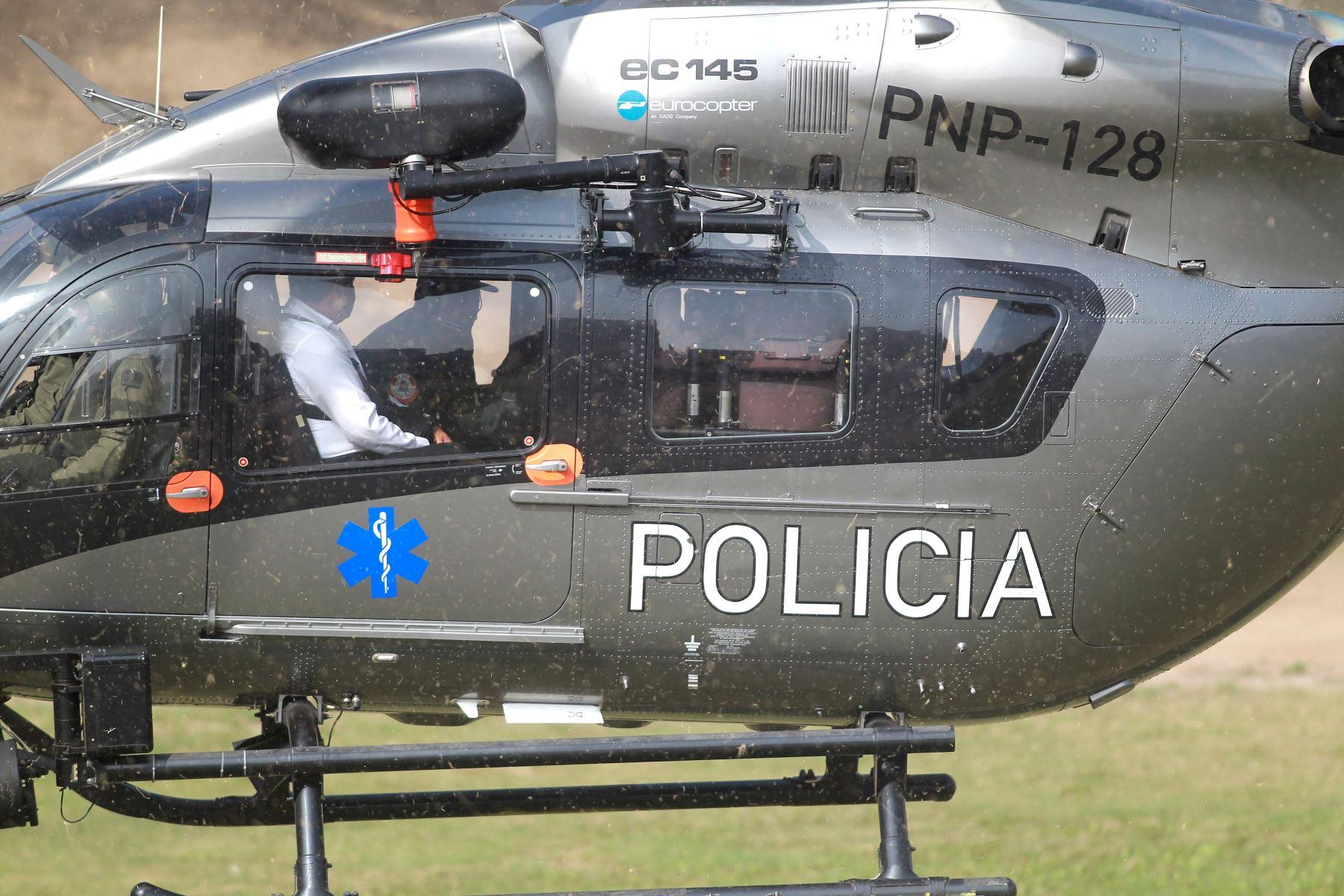 Usaron helicópteros para movilizar a Ollanta Humala y Nadine Heredia