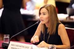 Marilú Martens, ministra de Educación