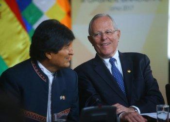Presidente Kuczynski se reúne con su homólogo boliviano Evo Morales en Lima