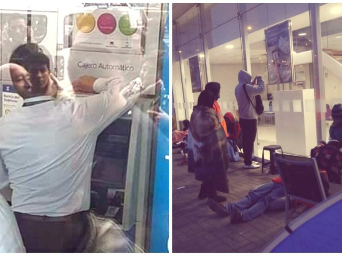 Trabajadores del BBVA aprovechan para comprar entradas del Perú vs Colombia