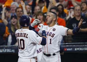 La novena de Houston lideran 2-1 la Serie Mundial sobre los Dodgers.