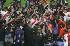 La Selección Peruana de Fútbol se enfrenta a Colombia por las eliminatorias sudamericanas a la Copa Mundial de la FIFA Rusia 2018. Foto: ANDINA/Juan Carlos Guzmán Negrini.
