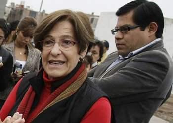Susana Villarán y Gabriel Prado