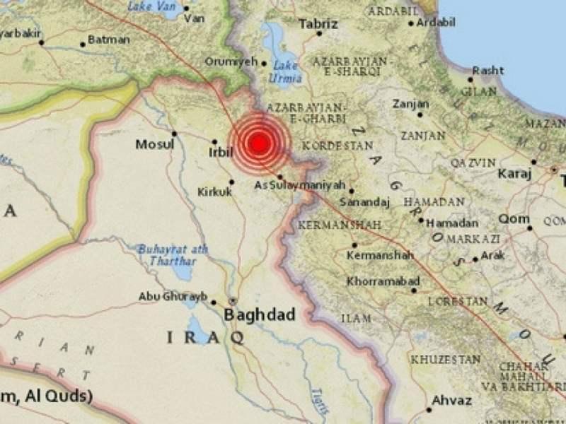 Terremoto en Irak