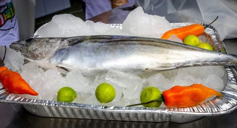 Venta de pescado bonito