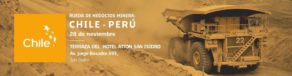 Este martes 28 de Noviembre se llevará a cabo el Encuentro de Proveedores Perú Chile