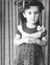 Doña Florinda de niña