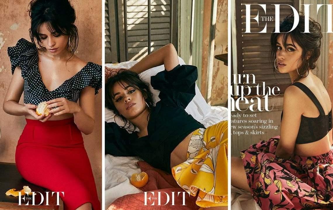Camila Cabello causa revuelo en sesión de fotos