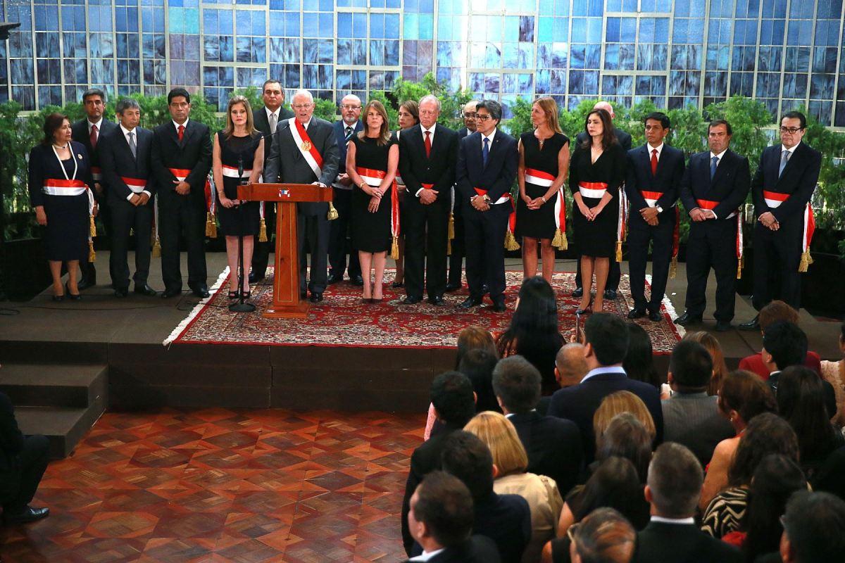 Estos son los nuevos miembros del Gabinete de Ministros