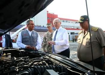 El presidente Kuczynski aseguró que el Perú que otros países de América Latina en seguridad ciudadana.