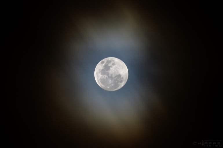 Superluna azul con eclipse