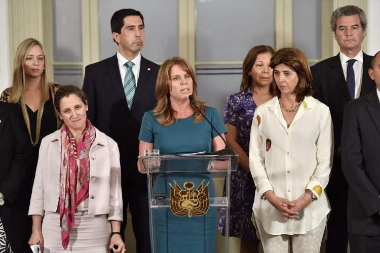 El Perú – con el respaldo del Grupo de Lima – reconsideró la invitación que le hizo al dictador venezolano Nicolás Maduro para que acuda a la Cumbre de las Américas.
