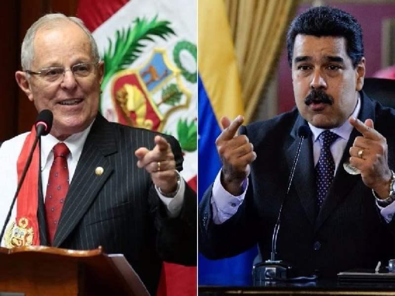 PPK y Nicolás Maduro