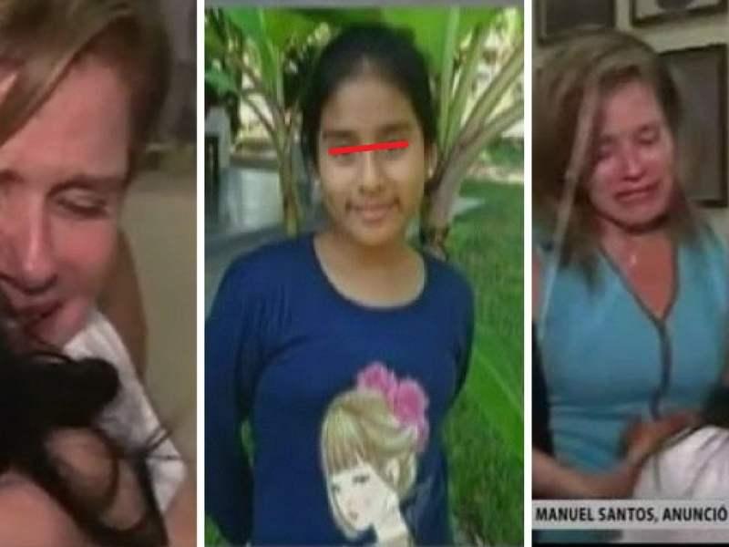Premier Mercedes Aráoz rompe en llanto con madre de Jimena