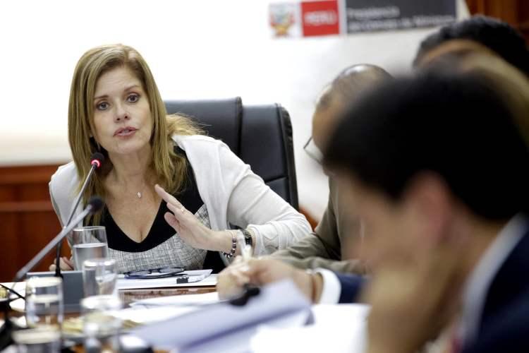 La premier Mercedes Aráoz recalcó que renunciaría a la vicepresidencia si es que la vacancia presidencial prospera.