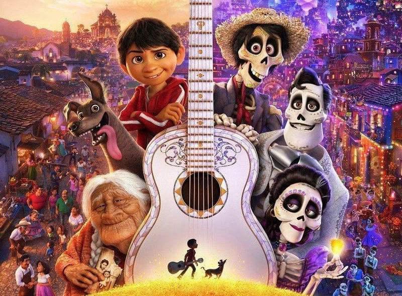 Coco premiada en el Oscar
