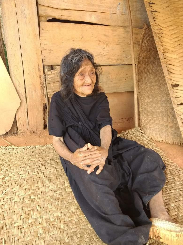 Enriqueta vive en la comunidad nativa de Umanavanti