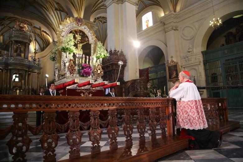 """Cardenal Juan Luis Cipriani: """"El Perú reclama unidad y perdón"""""""