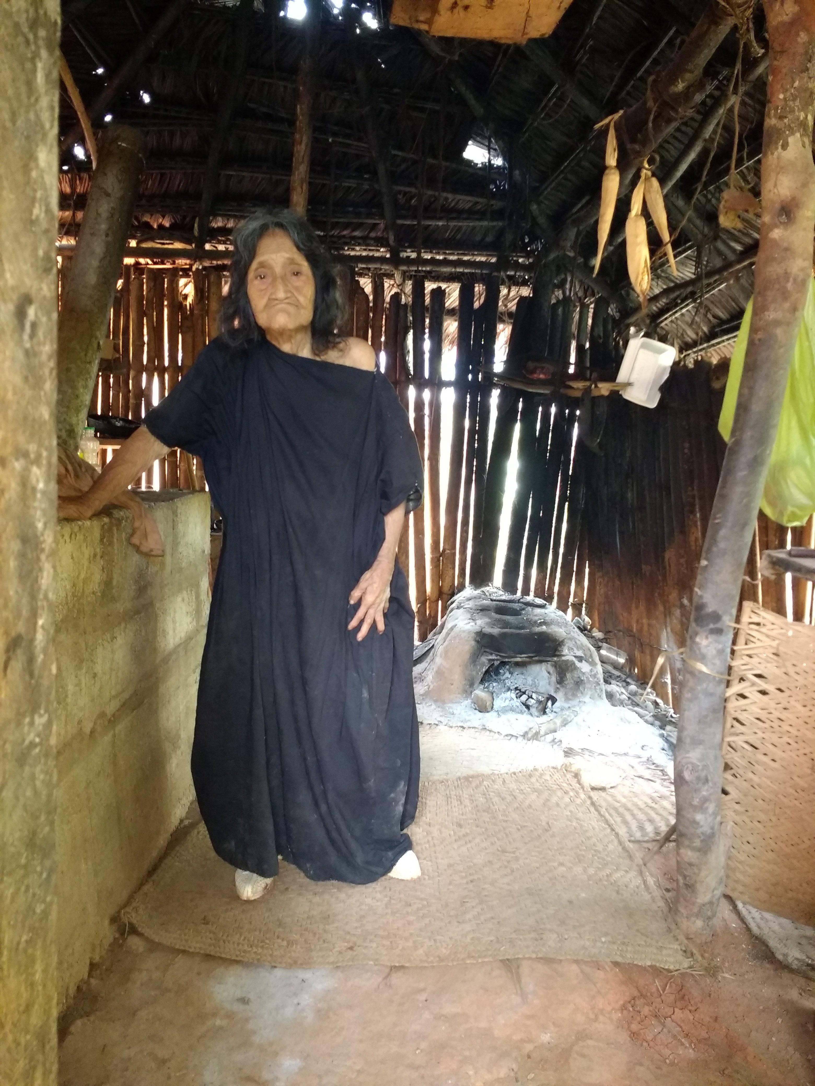 La mujer asháninka de 105 años más longeva de Coviriali, Junín