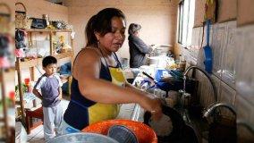 Amas de casa en extrema pobreza